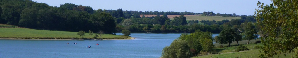 Vue depuis la location du gite en Vendée