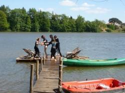 canoe pour groupe au gite en Vendée